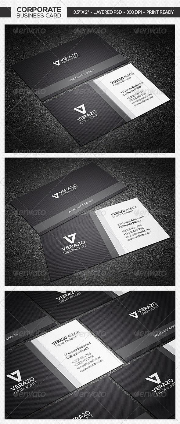 GraphicRiver Minimal Business Card 13 7258376