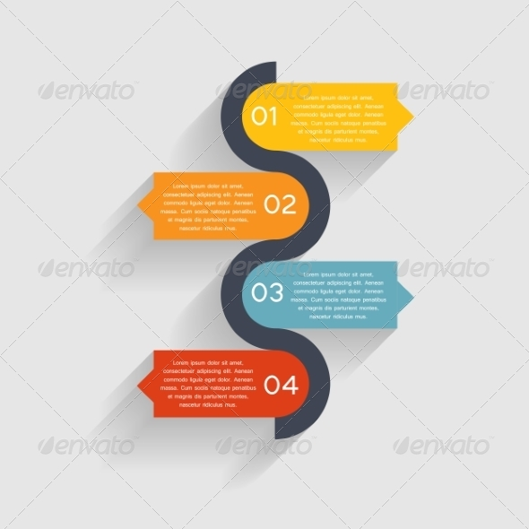 GraphicRiver Infographic Business Template 7258844