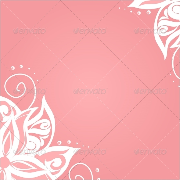 GraphicRiver Background with Floral Pattern 7258859