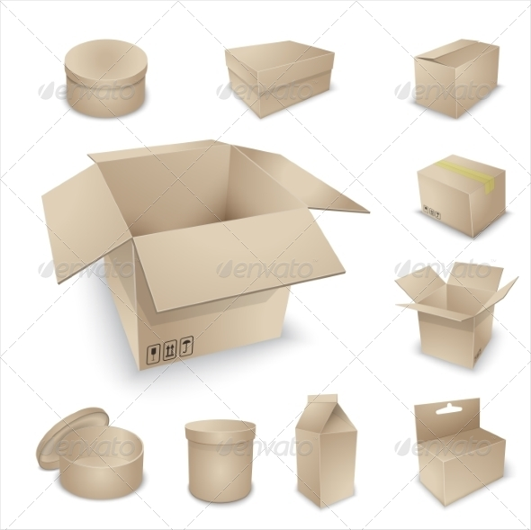 GraphicRiver Blank Packing Collection 7259271