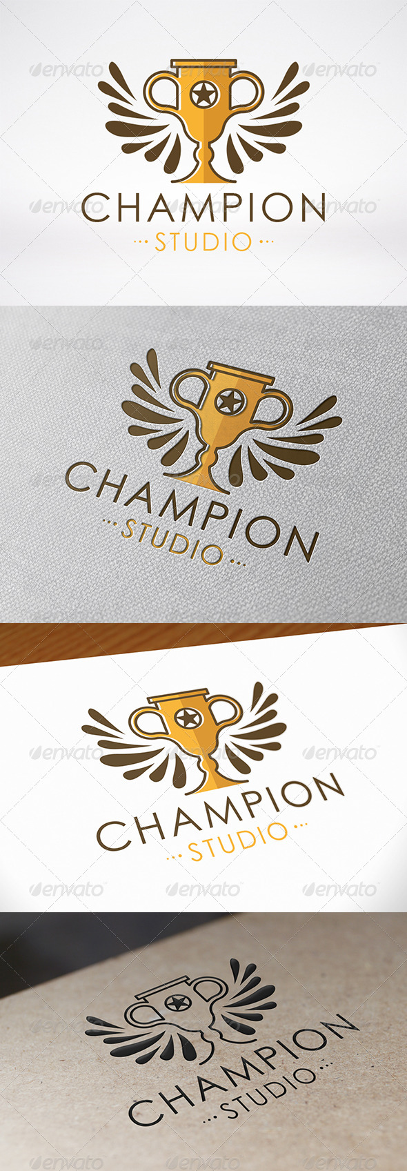 GraphicRiver Winner Logo Template 7259332