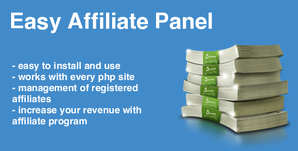 CodeCanyon Easy Affiliate Panel 7259737