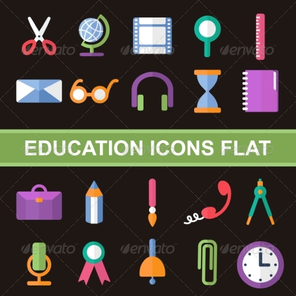 GraphicRiver Flat Icons 7259802