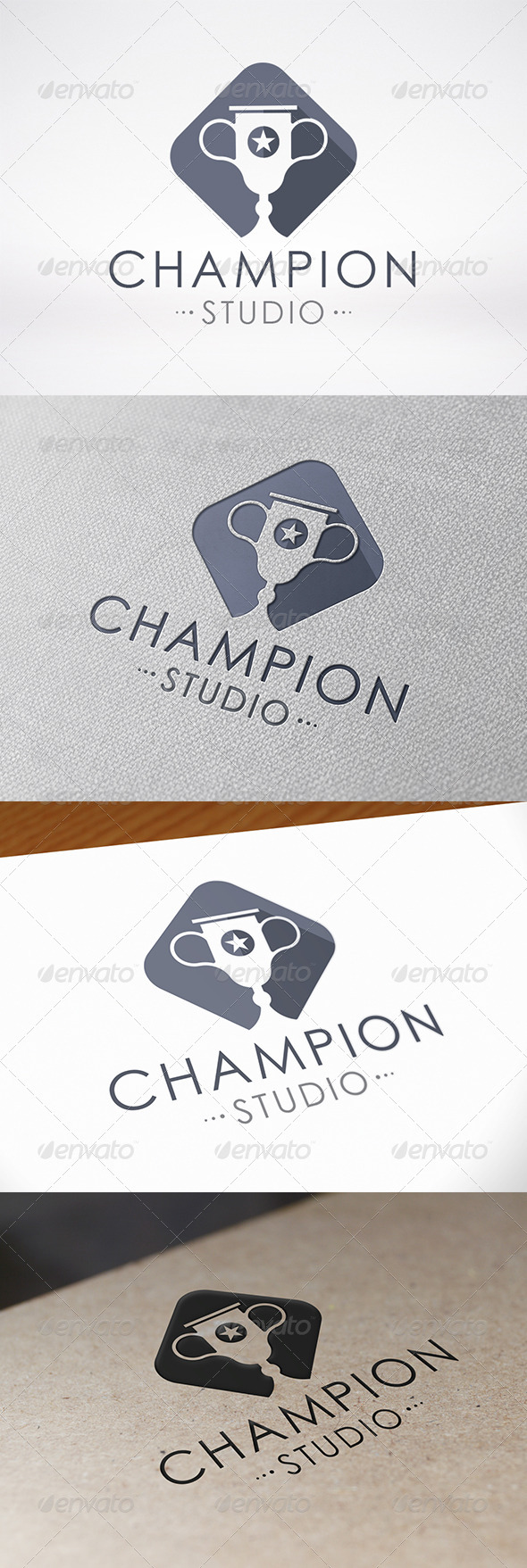 GraphicRiver Champion Logo Template 7260057