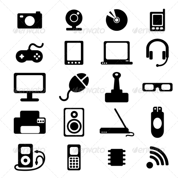 GraphicRiver Flat Icons 7260123