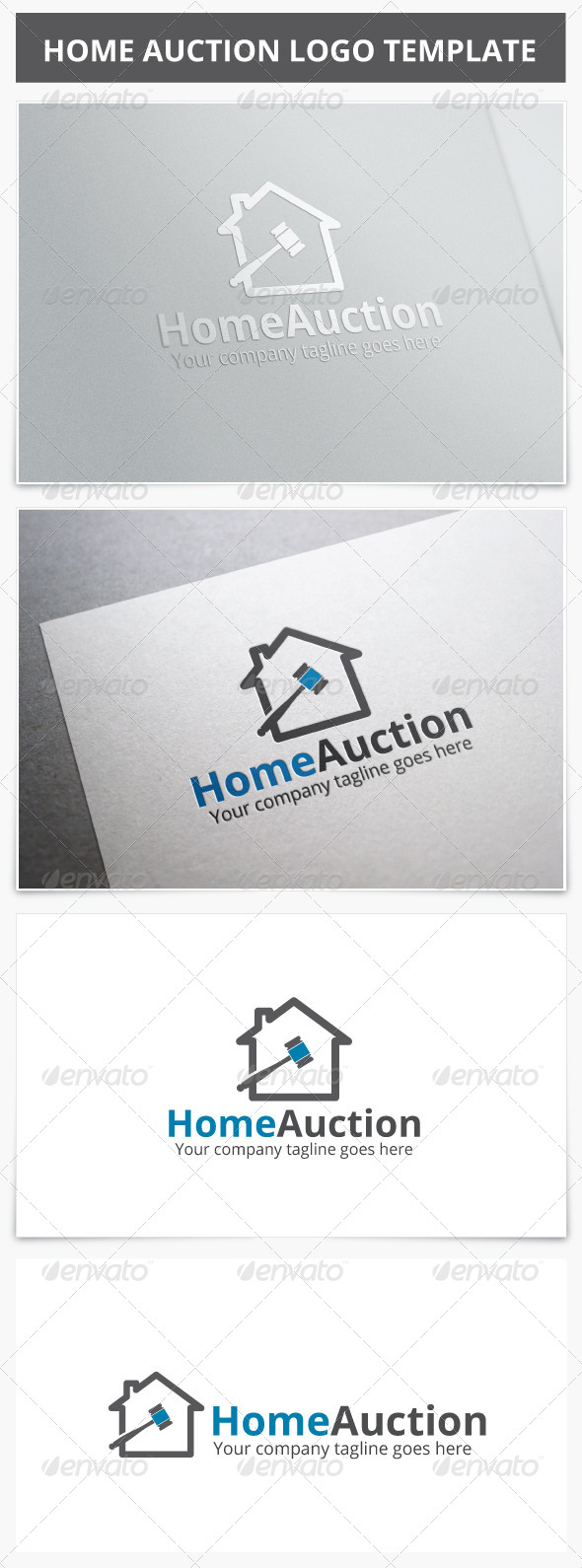 GraphicRiver Home Auction Logo 7260144