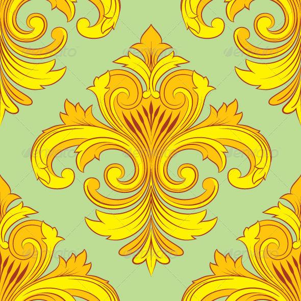 GraphicRiver Vintage Ornament Pattern 7260413