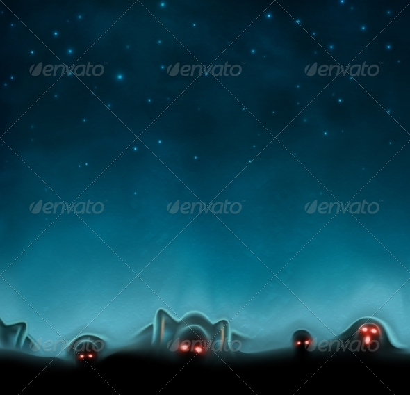 GraphicRiver Mystical Background 7260427