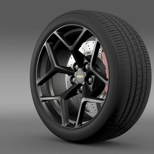 3DOcean Chevrolet Camaro Z28 2014 wheel 7260524