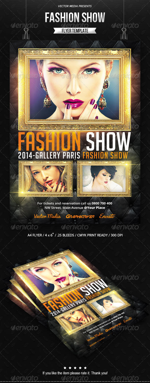 GraphicRiver Fashion Show Flyer 7260626