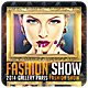 Fashion Show - Flyer - GraphicRiver Item for Sale