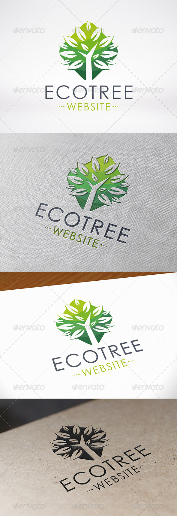 GraphicRiver Oak Tree Logo Template 7261433