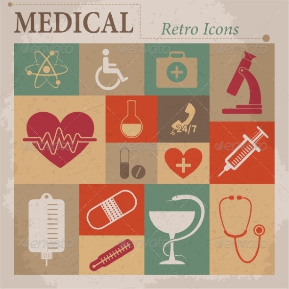 GraphicRiver Medical Icons 7261473
