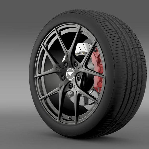 3DOcean Porsche 991 V GT 2014 wheel 7261513