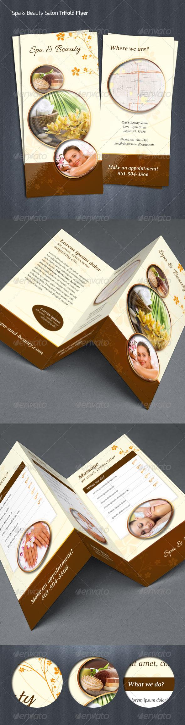 GraphicRiver Spa & Beauty Salon Flyer 7261765