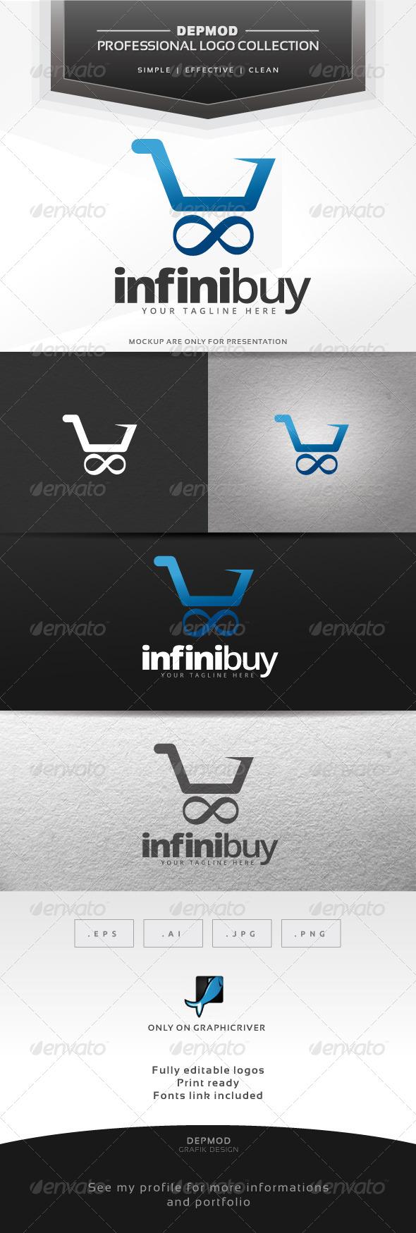 GraphicRiver Infini Buy Logo 7235969