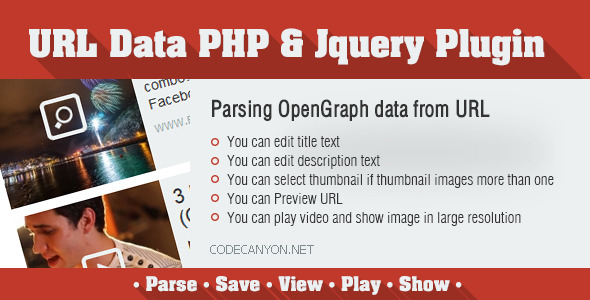 CodeCanyon URL Data PHP & Jquery Plugin 7261828