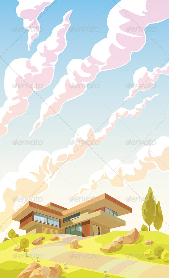 GraphicRiver Modern Villa 7261883