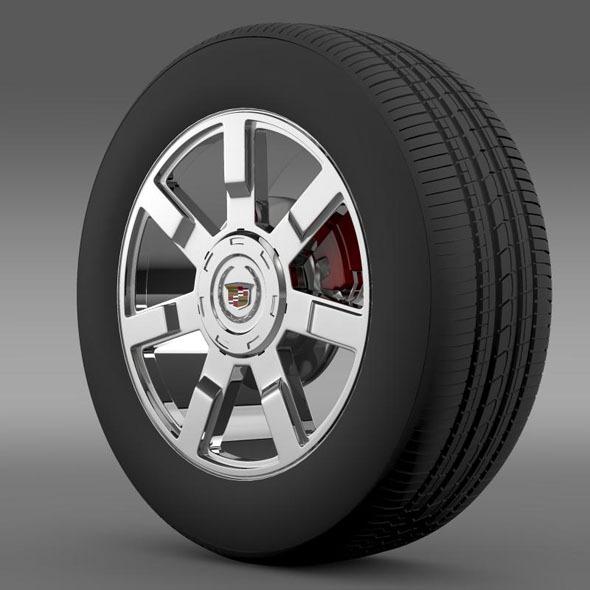 3DOcean Cadillac Escalade esv 2wd2 wheel 7262194