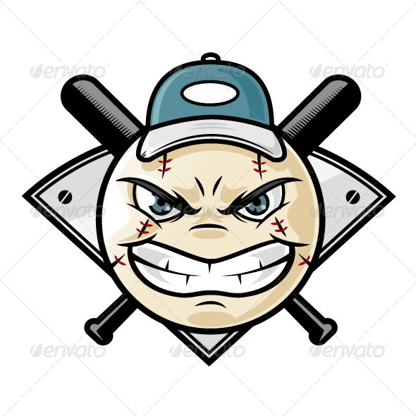 GraphicRiver Baseball Emblem 7262253