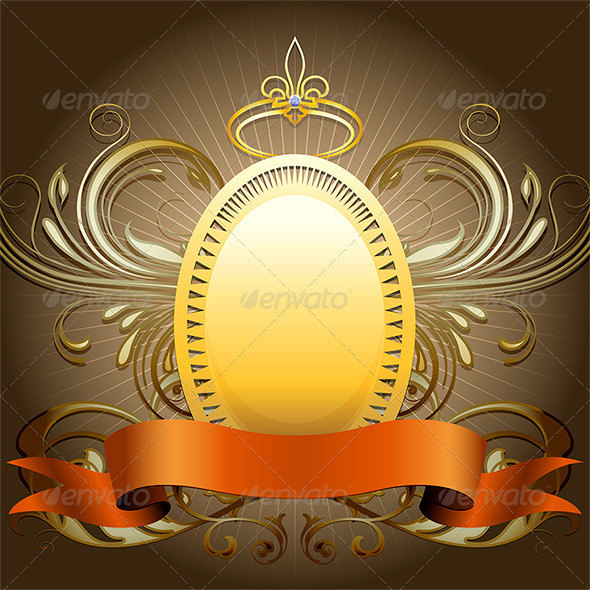 GraphicRiver Golden Shield 7262538
