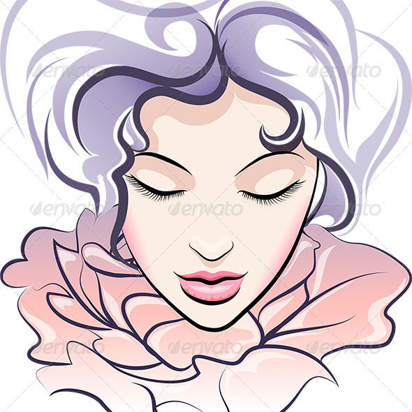 GraphicRiver The Flower Face 7262579
