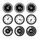 Dial and Timers Icons Set - GraphicRiver Item for Sale
