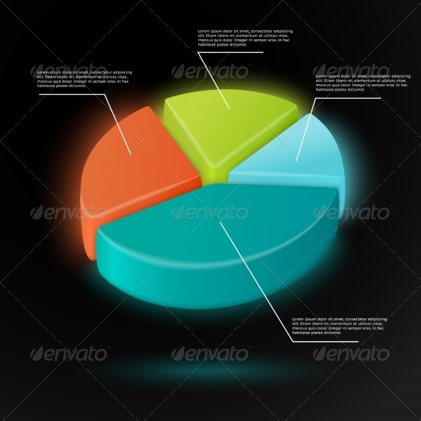 GraphicRiver Pie Chart Infographics Template 7262826