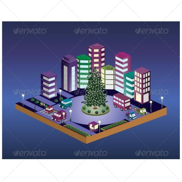 GraphicRiver Christmas Tree 7262863
