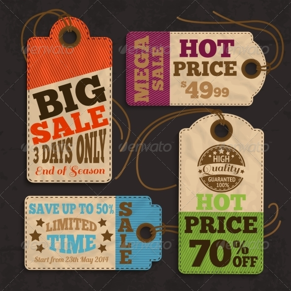 GraphicRiver Shopping Labels 7263105
