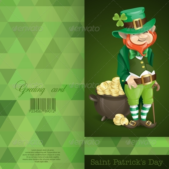GraphicRiver Leprechaun with Pot of Gold 7263176