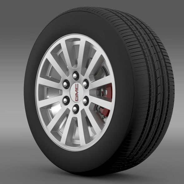 3DOcean GMC Yukon Hybrid 2012 wheel 7263203