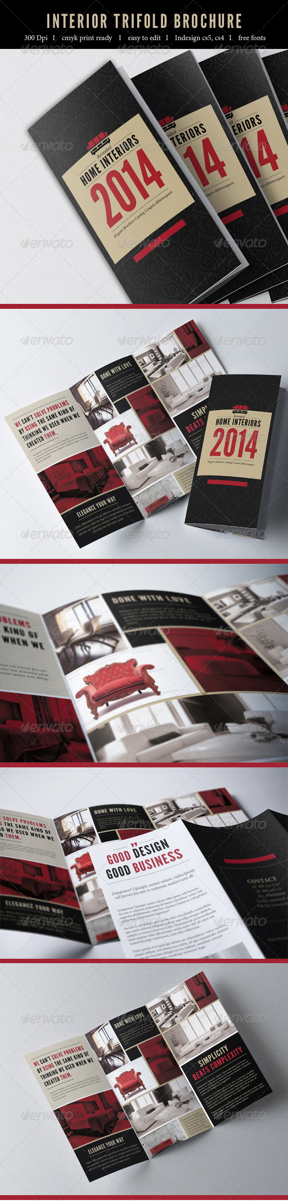 GraphicRiver Trifold Brochure 7243328