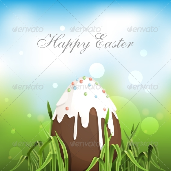 GraphicRiver Chocolate Easter Egg 7263255