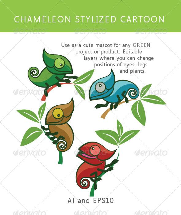 GraphicRiver Chameleon 7242622