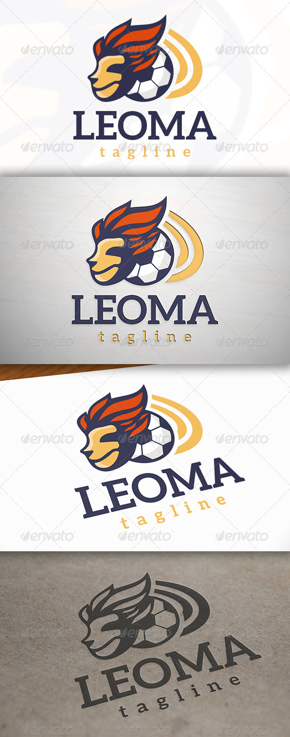 GraphicRiver Football Mascot Logo 7263497