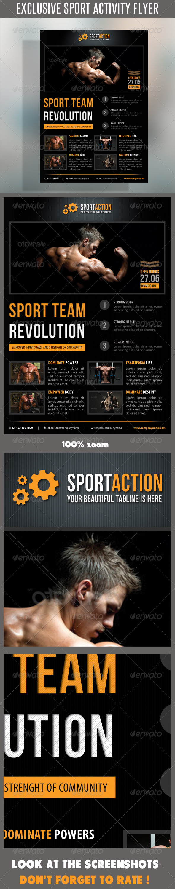 GraphicRiver Sport Multipurpose Flyer 18 7263725