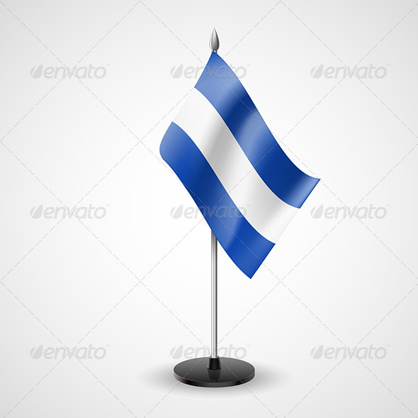 GraphicRiver Table Flag of El Salvador 7263992