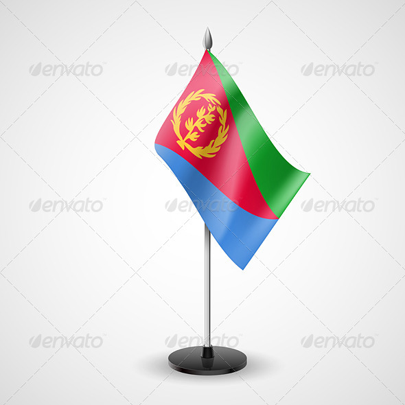 GraphicRiver Table Flag of Eritrea 7264061