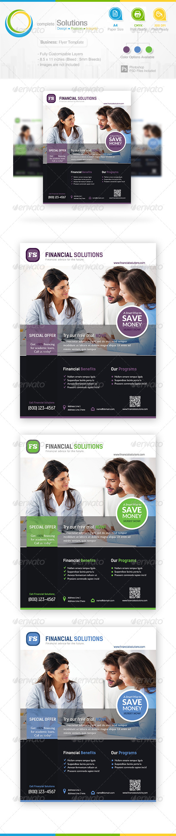 GraphicRiver Business Flyer 7069541