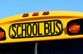 front of a yellow school bus - PhotoDune Item for Sale