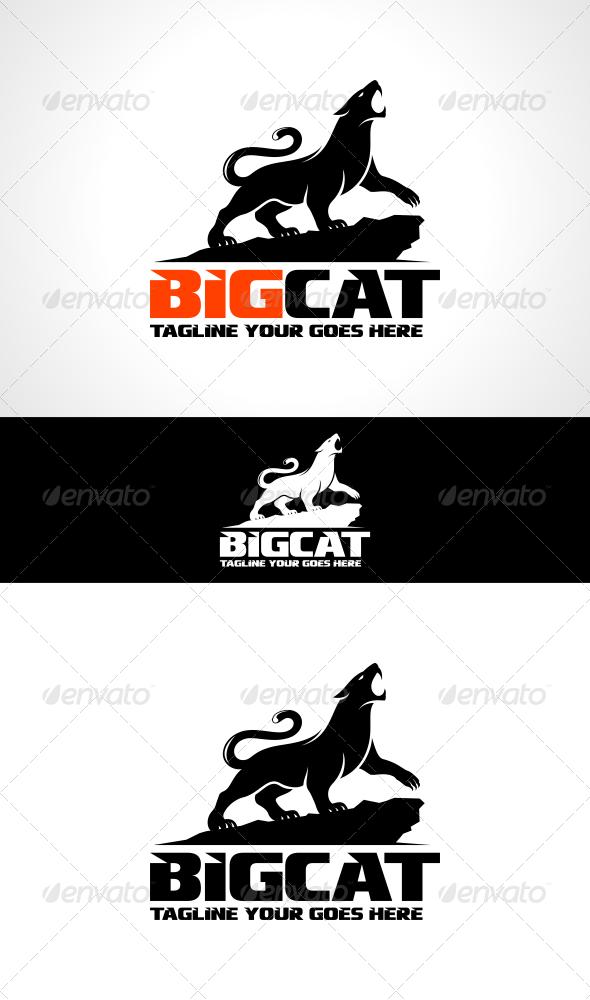 GraphicRiver Big Cat Logo Template 7236003