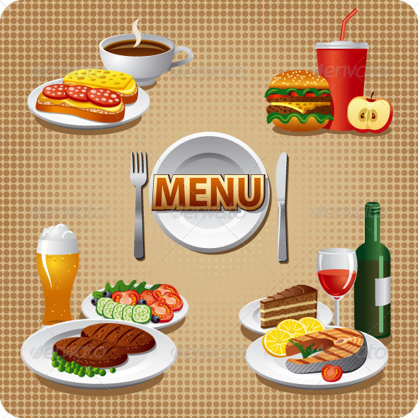 GraphicRiver Daily Menu Cover 7264354