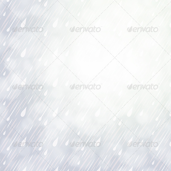 GraphicRiver Overcast Rainy Day Background 7264539