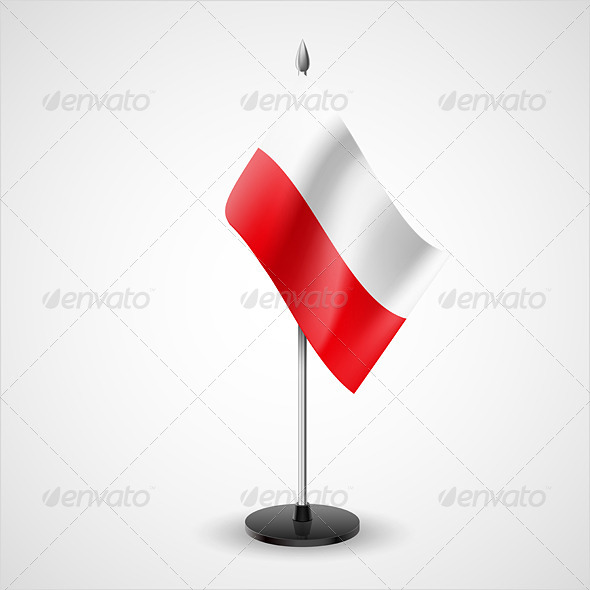 GraphicRiver Table Flag of Poland 7264612