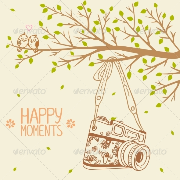 GraphicRiver Camera and Tree 7264614