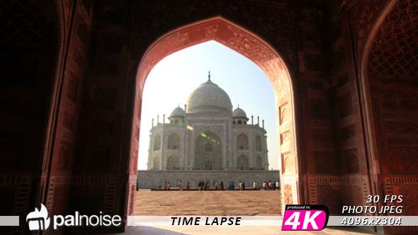 VideoHive Taj Mahal Door 7264618