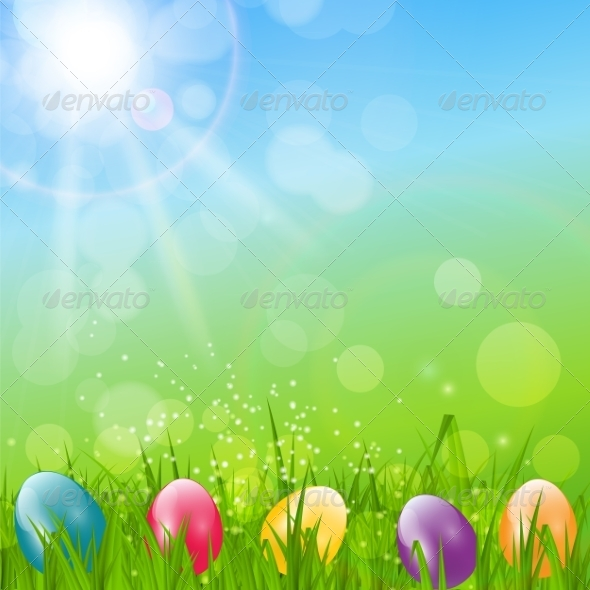 GraphicRiver Easter Background Illustration 7264700
