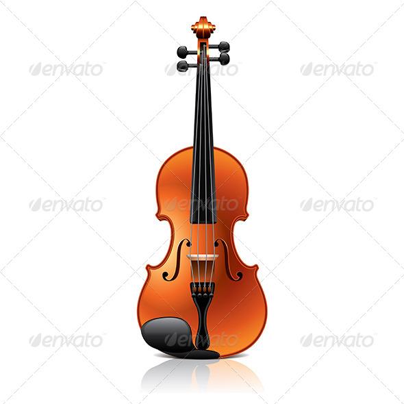 GraphicRiver Classic Violin 7264738