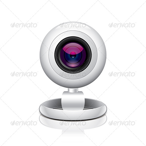 GraphicRiver White Webcam 7264767